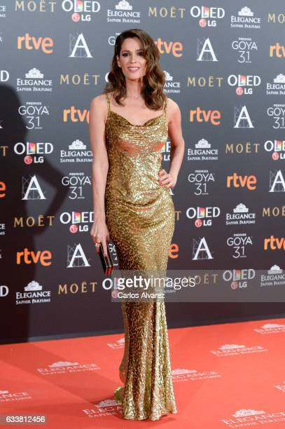 Mar Saura attends Goya Cinema Awards 2017 at Madrid Marriott Auditorium on February 4 2017 in Madrid Spain