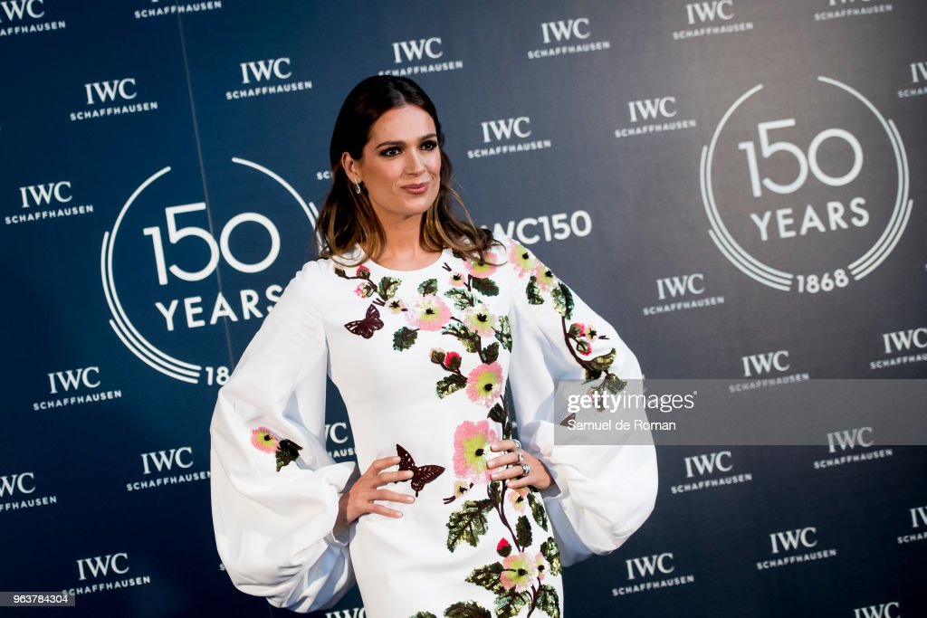 Mar Saura attends 'IWC - Fuera de Serie' 150 Anniversary Party on May 30, 2018 in Madrid, Spain.