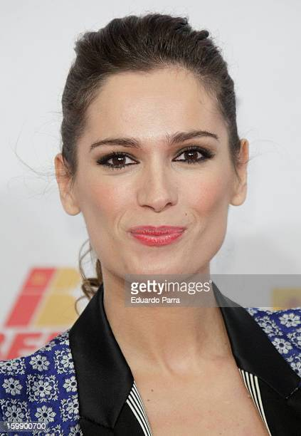 Mar Saura attends Jose Maria Forque awards photocall at Canal theatre on January 22 2013 in Madrid Spain