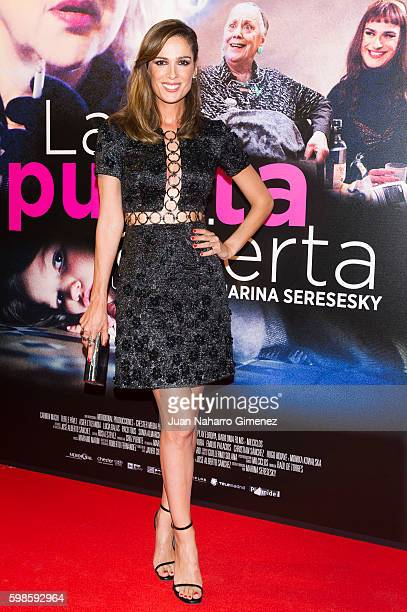 Mar Saura attends 'La Puerta Abierta' premiere at Palacio de la Prensa Cinema on September 1 2016 in Madrid Spain