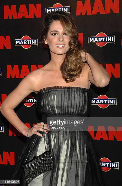 Mar Saura attends MAN Magazine 20th anniversary party at Florida Park on October 18 2007 in Madrid Spain
