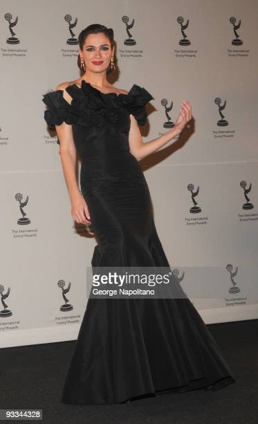Mar Saura attends the 37th International Emmy Awards gala at the New York Hilton and Towers on November 23 2009 in New York City