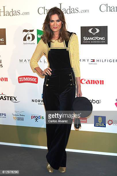 Mar Saura attends 'The Petit Fashion Week' 2016 at Palacio de Cibeles on October 6 2016 in Madrid Spain