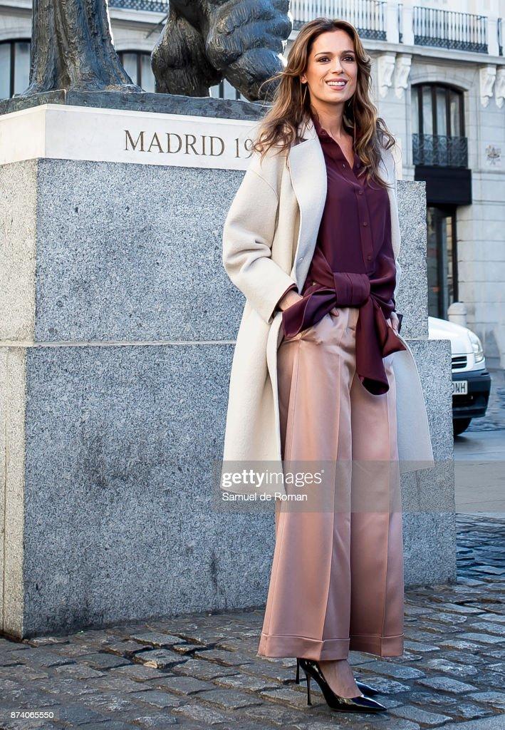 Mar Saura during Madrid Horse Week 2017 Presentation on November 14, 2017 in Madrid, Spain.