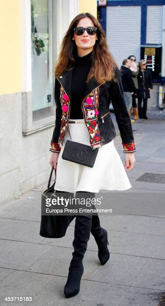 Mar Saura is seen on December 4 2013 in Madrid Spain