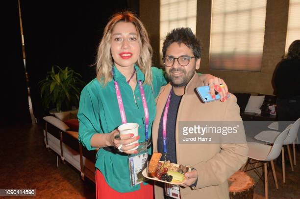 Mara Adina and Iesh Thapar attend the Producers Brunch during the 2019 Sundance Film Festival at The Shop on January 27 2019 in Park City Utah