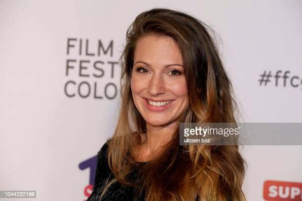 Mara Bergmann bei der Eröffnung des 27 Film Festival Cologne am 29 September 2017 im Filmpalast Hohenzollernring 22 50672 Köln