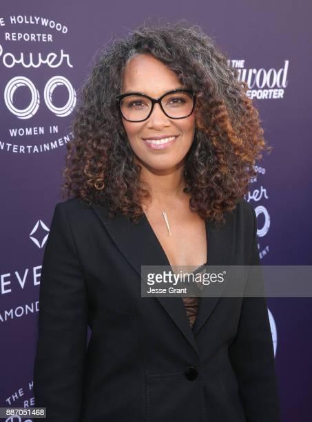 Mara Brock Akil attends The Hollywood Reporter's 2017 Women In Entertainment Breakfast at Milk Studios on December 6 2017 in Los Angeles California