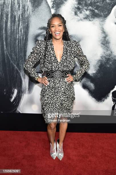 Mara Brock Akil attends the world premiere of The Photograph World at SVA Theater on February 11 2020 in New York City