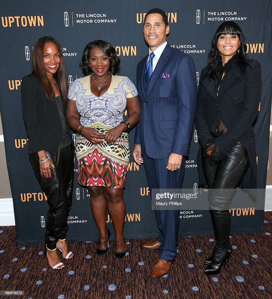 Mara Brock Akil, Bevy Smith, Woody Wilson and Carmen Murray attend The Journey Gala hosted by Bevy Smith at The Beverly Hilton Hotel on September 10, 2013 in Beverly Hills, California.