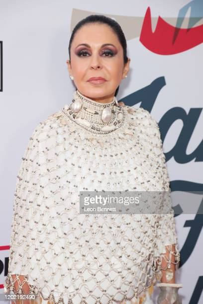 María Conchita Alonso arrives at Steven Tyler's Third Annual Grammy Awards Viewing Party to benefit Janie's Fund presented by Live Nation at Raleigh...