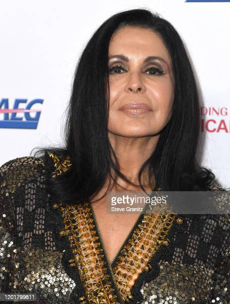 María Conchita Alonso arrives at the 2020 MusiCares Person Of The Year Honoring Aerosmith at West Hall At Los Angeles Convention Center on January 24...