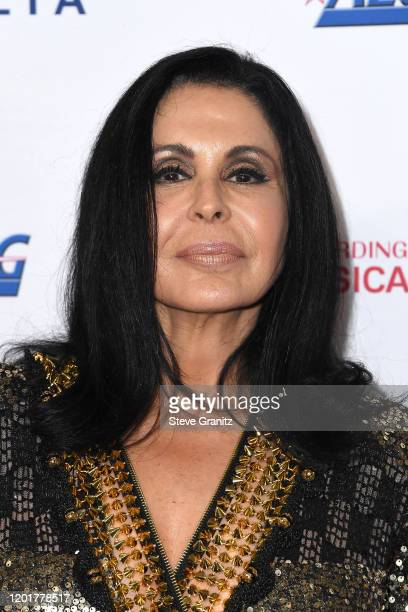 María Conchita Alonso attends MusiCares Person of the Year honoring Aerosmith at West Hall at Los Angeles Convention Center on January 24 2020 in Los...