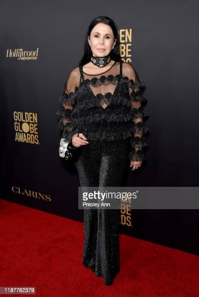 María Conchita Alonso attends the Hollywood Foreign Press Association and The Hollywood Reporter Celebration of the 2020 Golden Globe Awards Season...