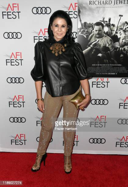 María Conchita Alonso attends the Richard Jewell premiere during AFI FEST 2019 Presented By Audi at TCL Chinese Theatre on November 20 2019 in...