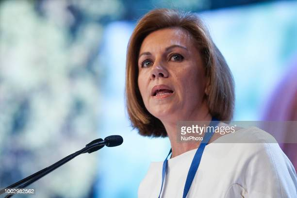 María Dolores de Cospedal during the Partido Popular national congress held in Madrid Spain 20 July 2018
