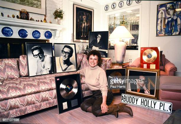 María Elena Holly née Santiago was the widow of rock and roll pioneer Buddy Holly until she remarried She owns the rights to his name image...