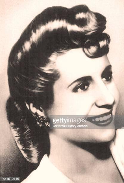 María Eva Duarte de Perón Eva Perón 1941 Second wife of Argentine President Juan Perón She also served as the First Lady of Argentina