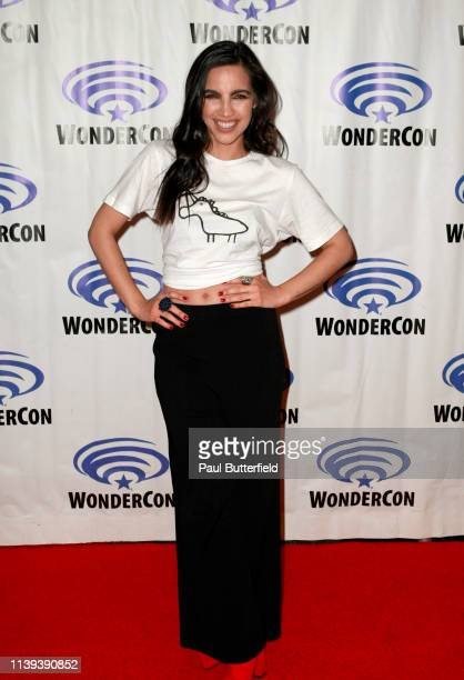 María Gabriela de Faría attends the 'Deadly Class' press line during WonderCon 2019 at Anaheim Convention Center on March 30 2019 in Anaheim...