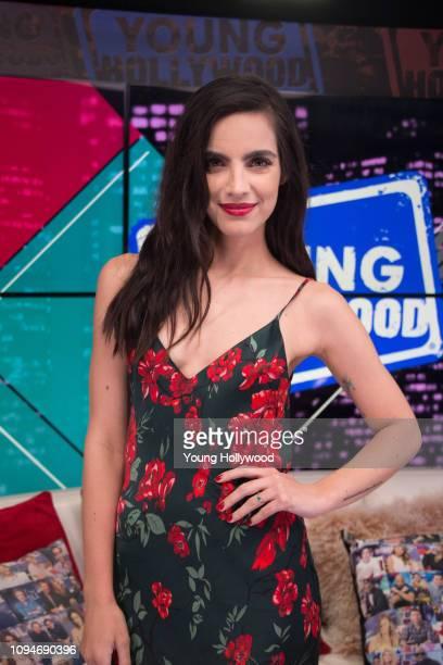 María Gabriela de Faría visits the Young Hollywood Studio on January 15 2019 in Los Angeles California
