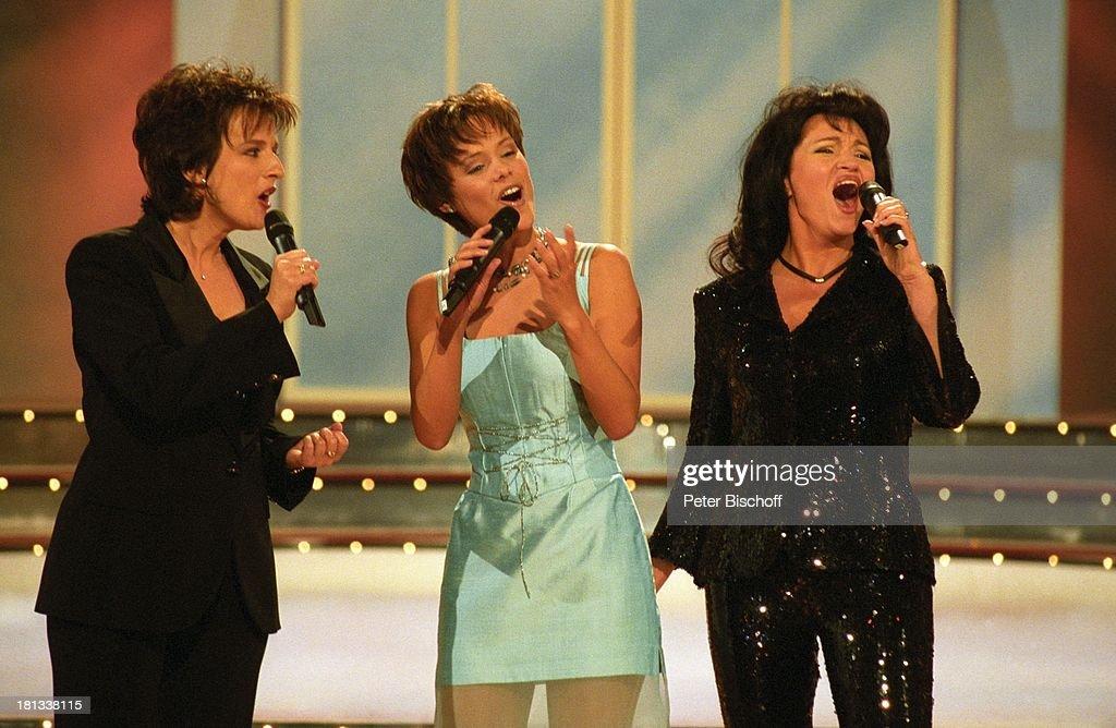Mara Kayser, Francine Jordi, Monika Martin (v.r.n.l.), ARD-Show  : News Photo