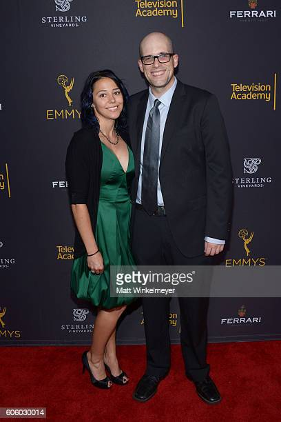 Mara Knopic and Dan Murrell attend the Television Academy hosts reception for EmmyNominated producers at Montage Beverly Hills on September 15 2016...