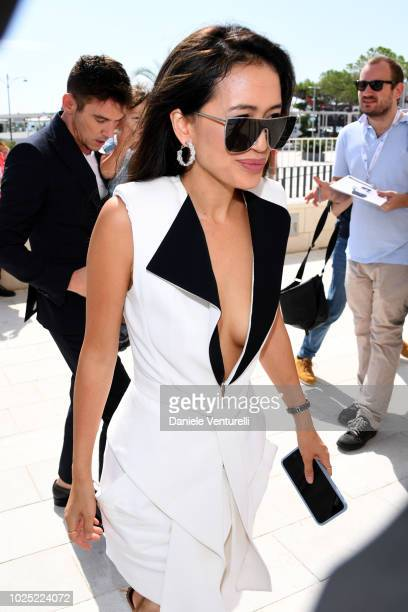 Mara Lane attends 'The Aspern Papers' photocall during the 75th Venice Film Festival at Sala Casino on August 30, 2018 in Venice, Italy.