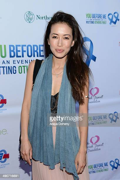 Mara Lane attends the You Before Me benefit for the 100th birthday of The American Cancer Society on May 14, 2014 in Los Angeles, California.