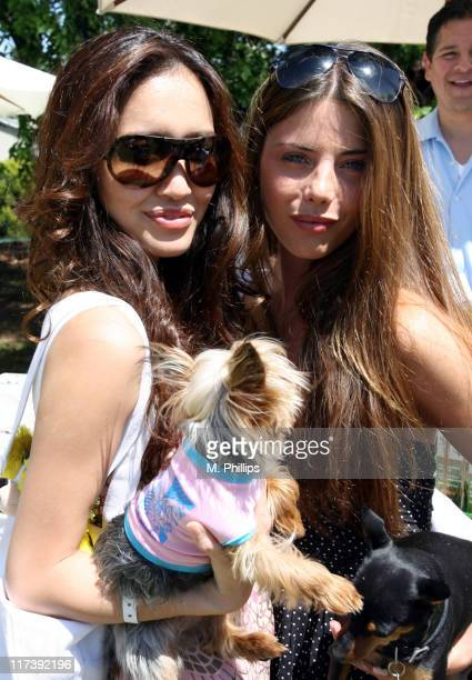 Mara Lane, Olive and guest during The Silver Spoon Hosts 4th Annual Dog and Baby Buffet - Day Two at Wattles Mansion in Los Angeles, California,...