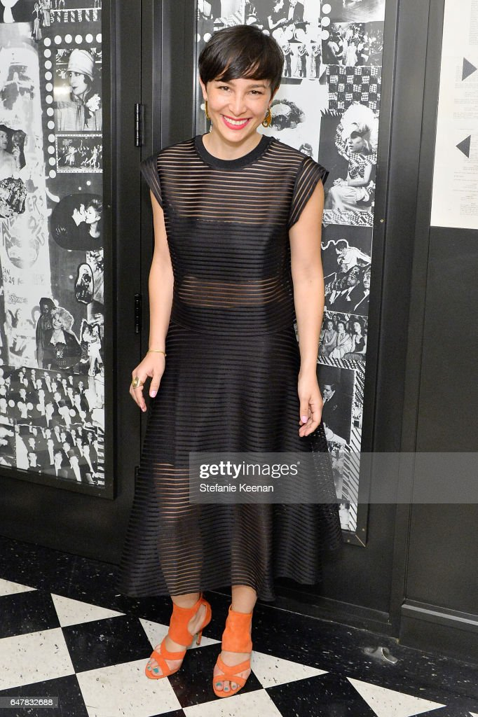 Mara Lecocq attended the Girlboss + American Express Platinum Collective Dinner on March 3, 2017 in Los Angeles, California.