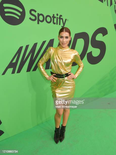 María León attends the 2020 Spotify Awards at the Auditorio Nacional on March 05 2020 in Mexico City Mexico