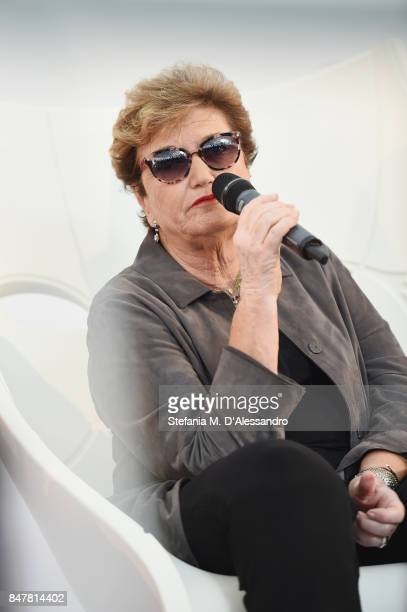 Mara Maionchi attends FuoriCinema on September 16 2017 in Milan Italy