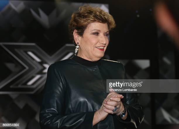 Mara Maionchi attends X Factor 11 on October 26 2017 in Milan Italy