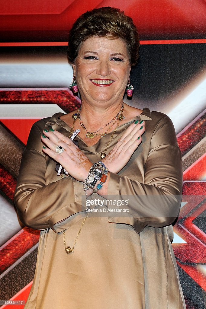 X Factor Press Conference: Italian TV Show