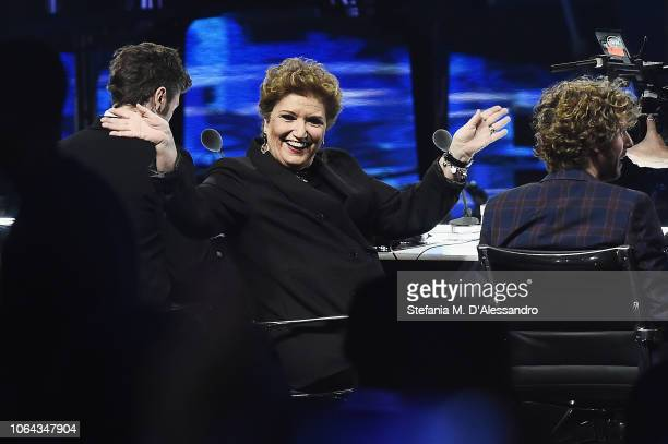 Mara Maionchi attends X Factor tv show at Teatro Linear Ciak on November 22 2018 in Milan Italy