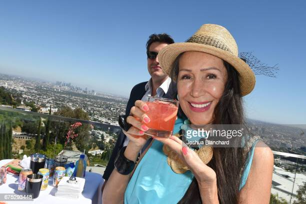 Mara New attends Paul Dee Dee Sorvino celebrate their Bestselling Book Pinot Pasta Parties in the Hollywood Hills at 1476 Blue Jay Way on April 30...