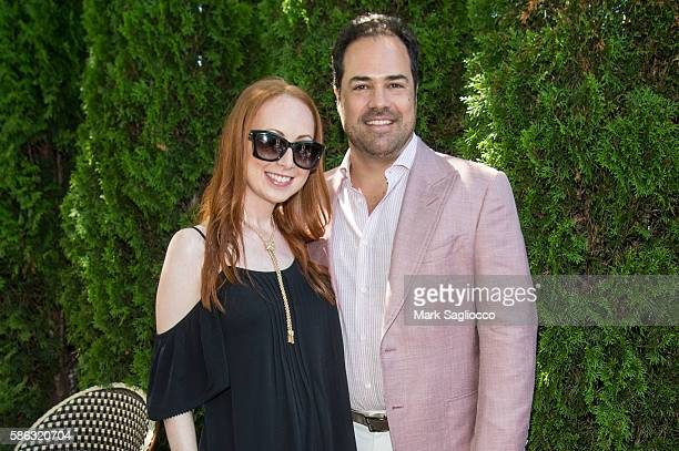 Mara Opperman and Chris Del Gatto attend the DELGATTO Luncheon to Celebrate Partnership with the Dubin Breast Center of the Tisch Cancer Institute at...