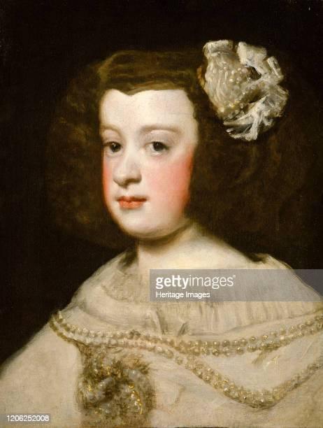 María Teresa Infanta of Spain mid17th century Artist Workshop of Diego Rodríguez de Silva y Velázquez