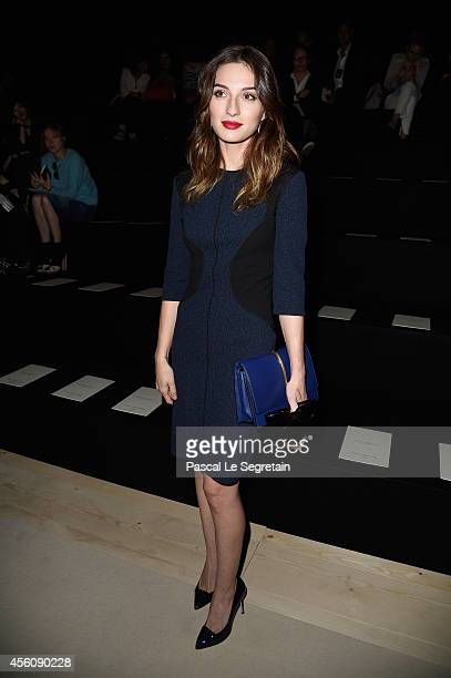 María Valverde attends the Nina Ricci show as part of the Paris Fashion Week Womenswear Spring/Summer 2015 on September 25 2014 in Paris France