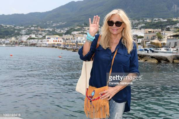 Mara Venier attends 2018 Ischia Global Film Music Fest on July 16 2018 in Ischia Italy