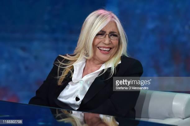 Mara Venier attends Che Tempo Che Fa Tv Show on June 02 2019 in Milan Italy