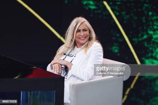 Mara Venier attends Che Tempo Che Fa Tv Show on June 3 2018 in Milan Italy