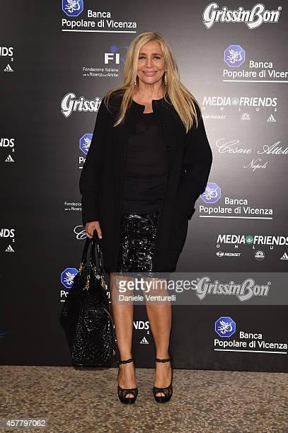 Mara Venier attends the Gala Dinner 'La Grande Bellezza' during the 9th Rome Film Festival on October 24 2014 in Rome Italy
