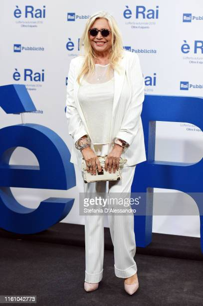 Mara Venier attends the Rai Show Schedule presentation on July 09 2019 in Milan Italy