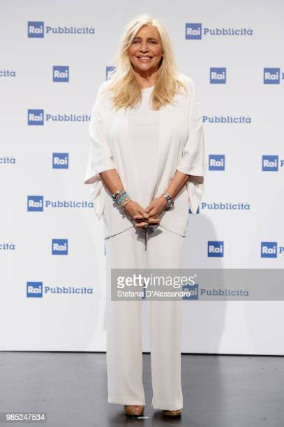 Mara Venier attends the Rai Show Schedule presentation on June 27 2018 in Milan Italy