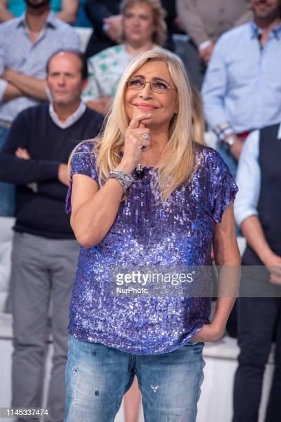 Mara Venier during the Italian TV Show quotDomenica Inquot in Rome Italy on May 20 2019