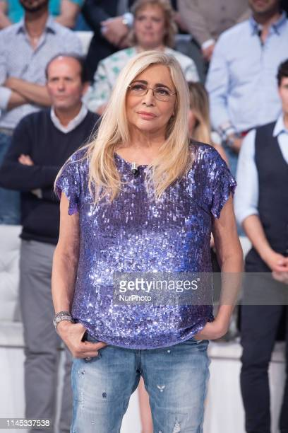 Mara Venier during the Italian TV Show quotDomenica Inquot in Rome Italy on May 20 2019
