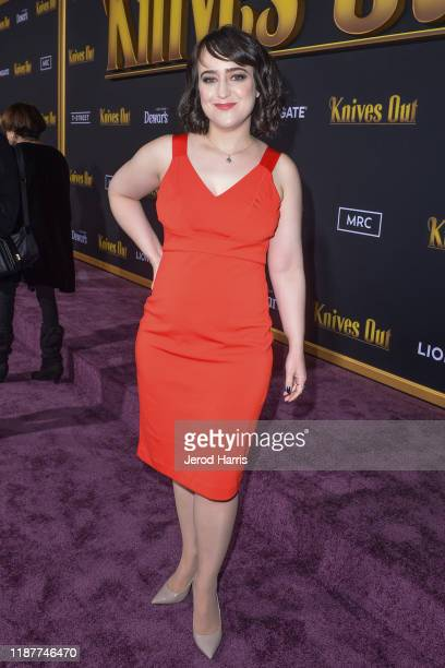 Mara Wilson arrives at the Premiere of Lionsgate's 'Knives Out' at Regency Village Theatre on November 14, 2019 in Westwood, California.
