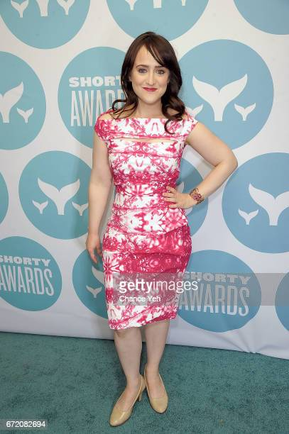 Mara Wilson attends 9th Annual Shorty Awards at PlayStation Theater on April 23 2017 in New York City