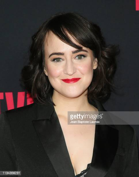 "Mara Wilson attends the Premiere of BBC America and AMC's ""Killing Eve"" Season 2 on April 01, 2019 in Los Angeles, California."